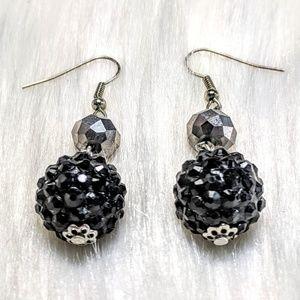 Jewelry - Crystal Ball Earrings